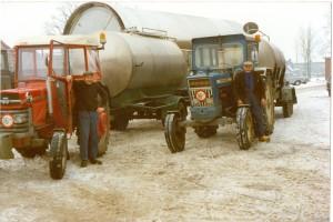 Bernard melkwagen